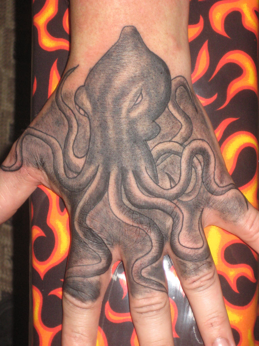 Unfinished Octopus