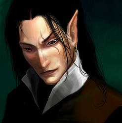 Dark Elf by anndr