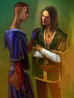 Barakah and Magnus by anndr