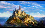 Unconquered castle by anndr