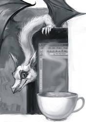 Koffee dragon by anndr