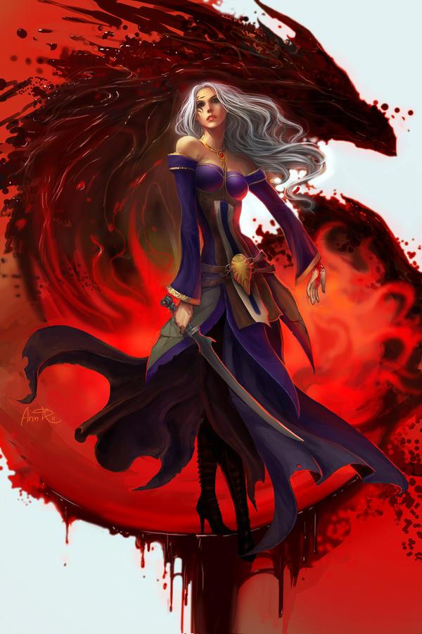 blood mage by anndr on deviantart