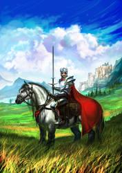Knight by anndr