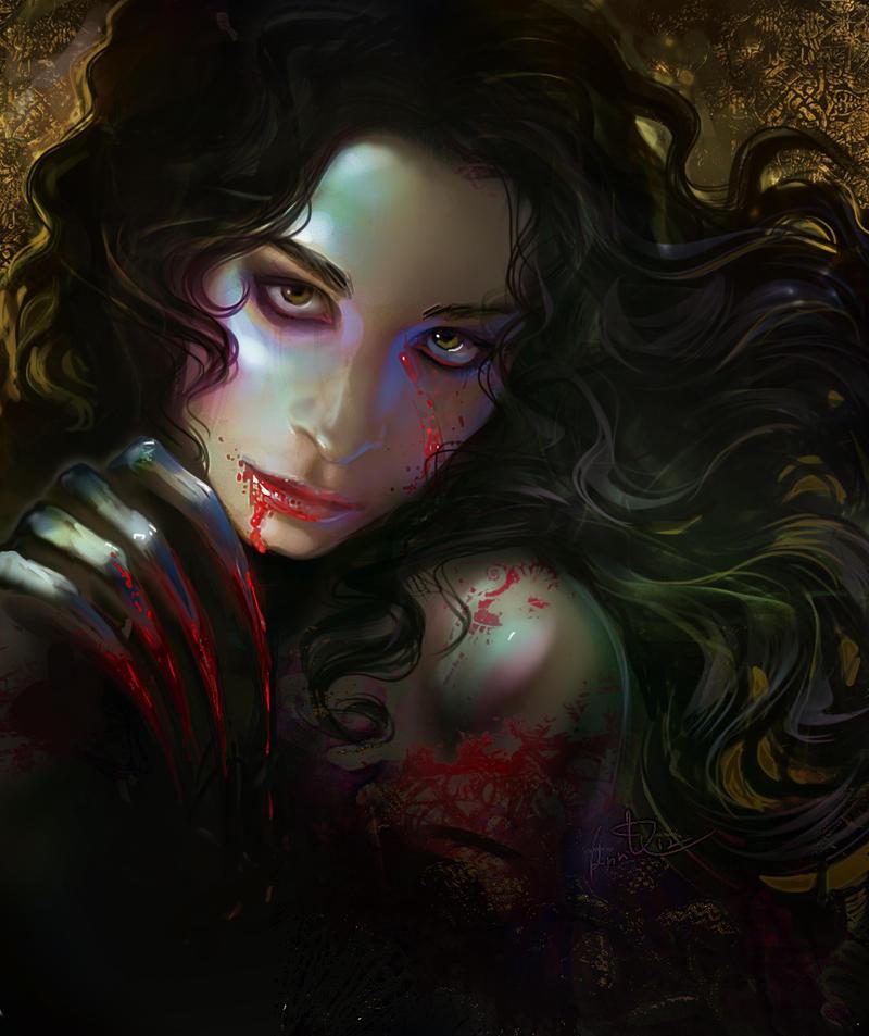 My sweet horny vampire