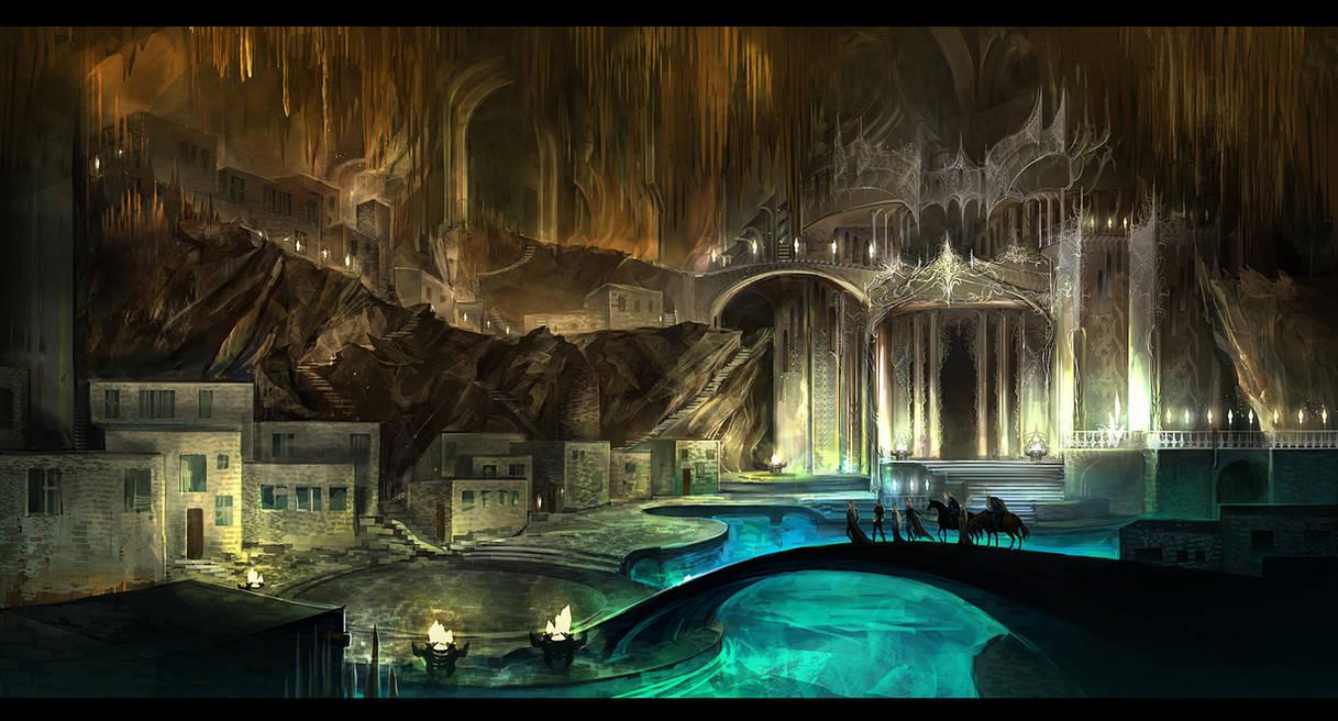 Underground city by anndr