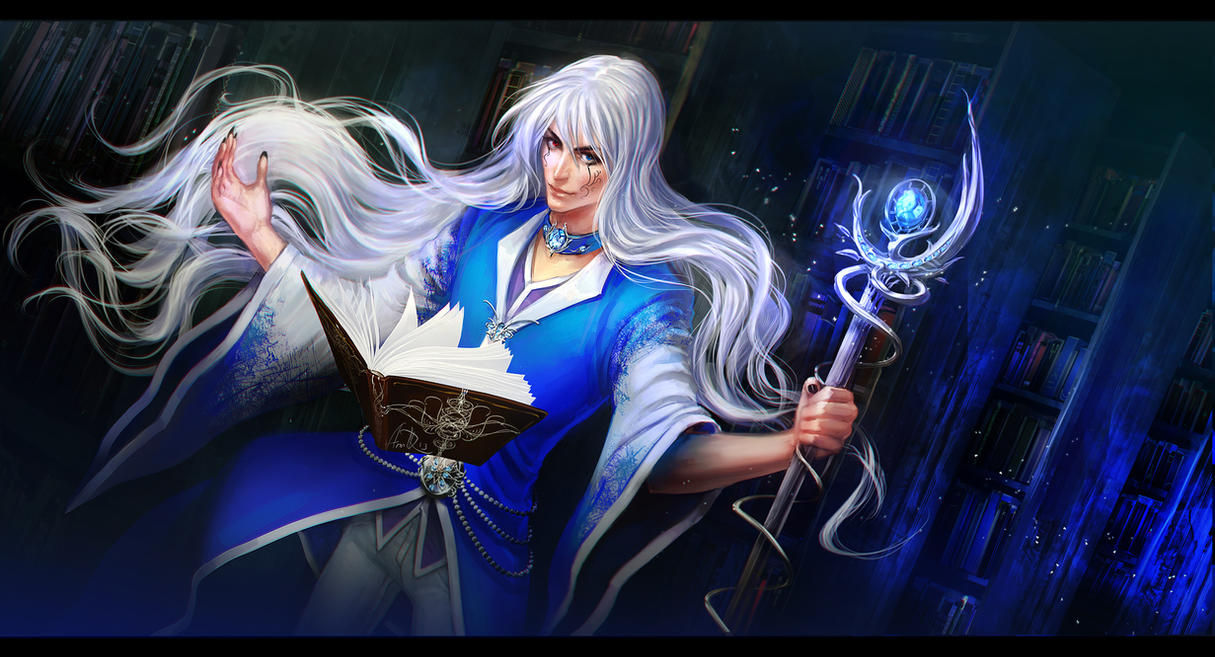 ice mage by anndrIce Mage Anime