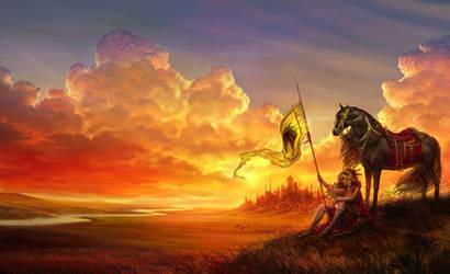 War Horse by anndr