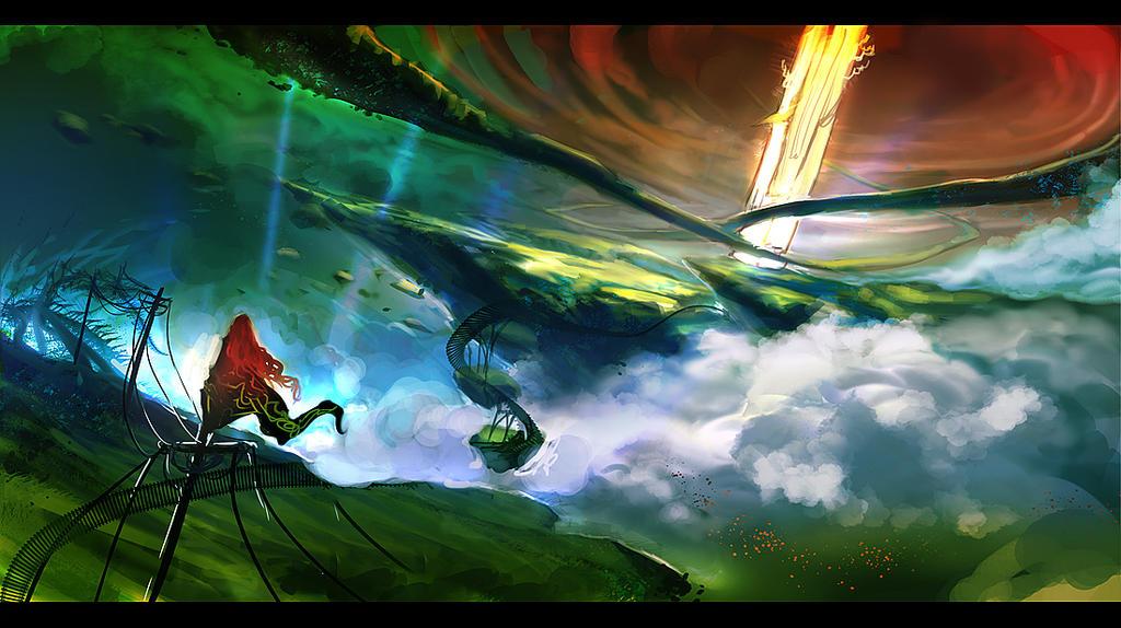 Dreamworld Keeper by anndr
