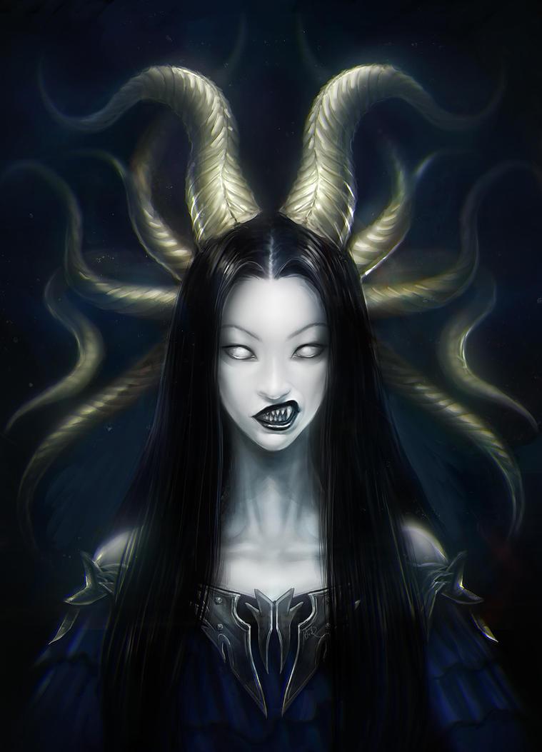 Demon Queen by anndr