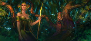 Spirits of the magic forest