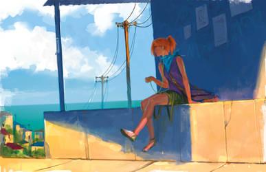 Travel light by anndr