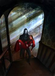 Victorian vampire by anndr