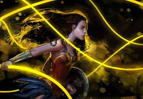 Wonder Woman by anndr