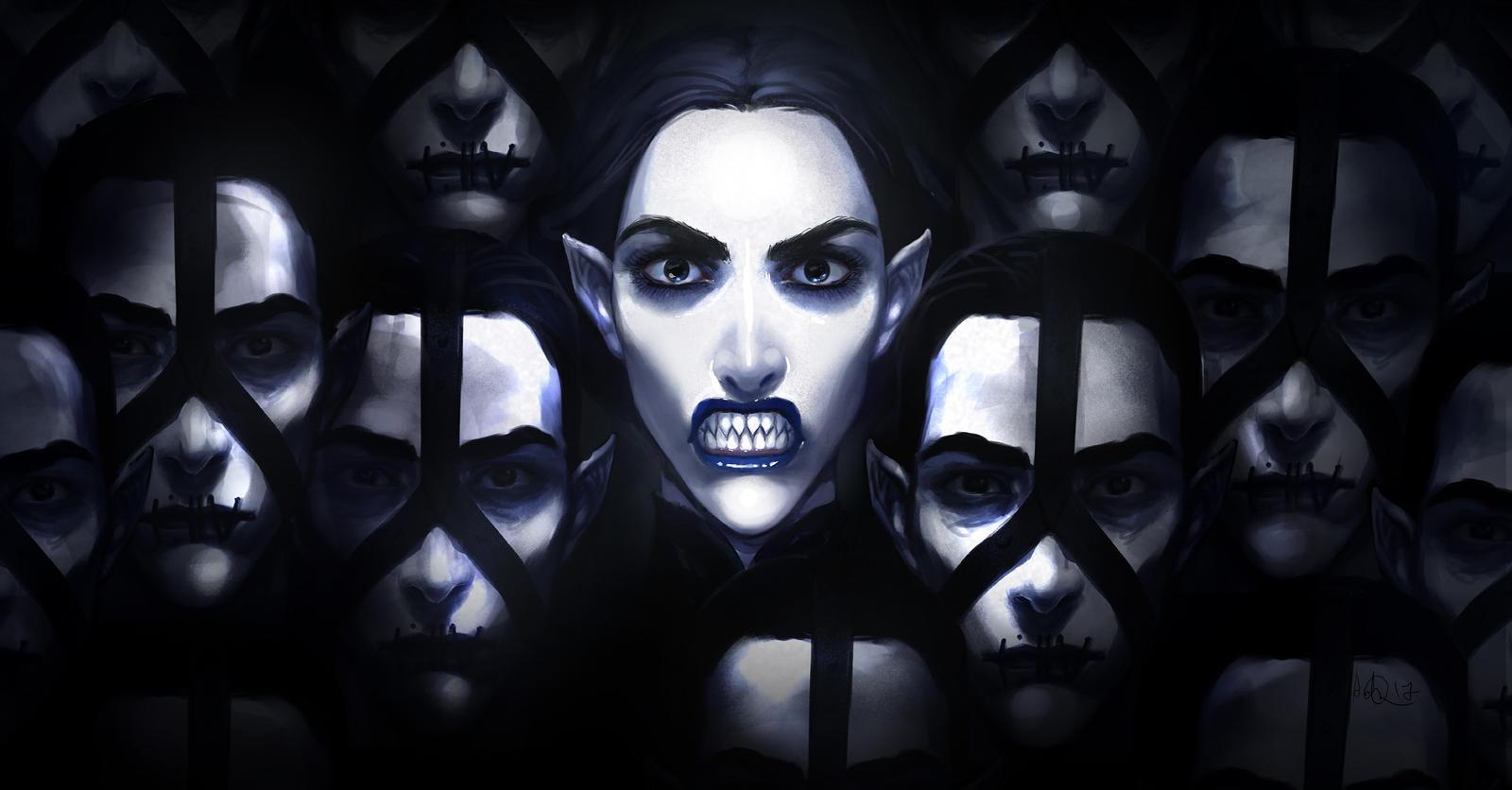 Black Queen by anndr