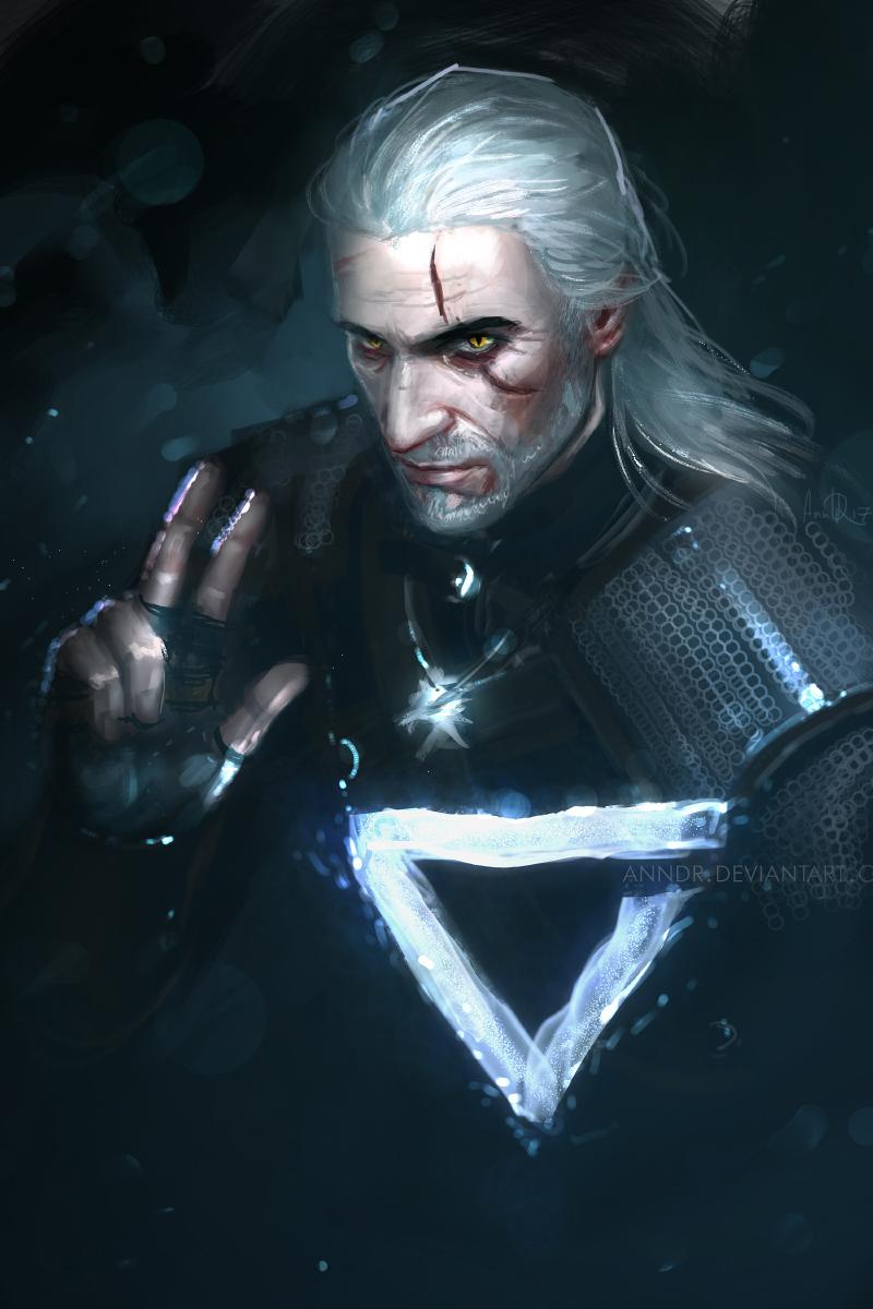Geralt: axii by anndr