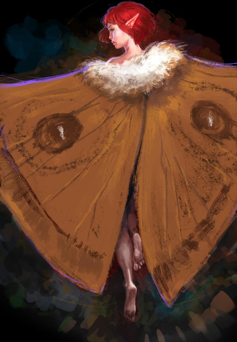 Moth Fairy by anndr