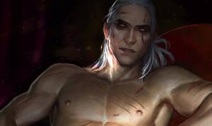 A little more about Geralt by anndr