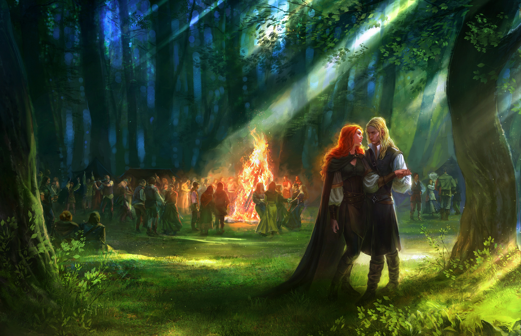 My Love O' The Greenwood by anndr