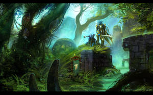 Troll temple ruins