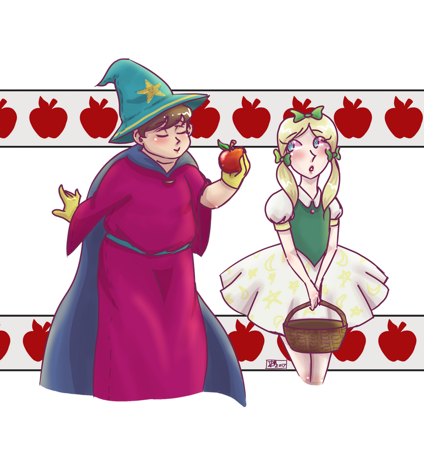 Loo Loo Loo Have a (Poisonous) Apple by vdaze-art
