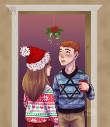 Kiss the girl by vdaze-art
