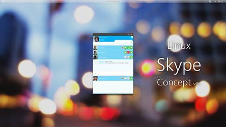 Linux Skype Concept v0.1