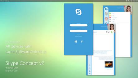 Linux Skype Concept v2