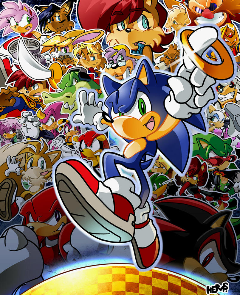 Sonic Hedgehog By Herms85 On DeviantArt