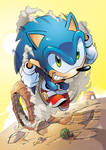 Sonic the Hedgehog 218 Cover