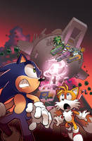 Sonic Universe 35 Cover by herms85