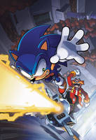 Sonic FCBD 2012 Cover by herms85