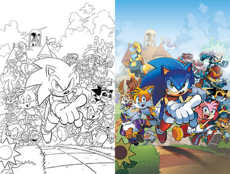 Sonic the Hedgehog 241 Cover