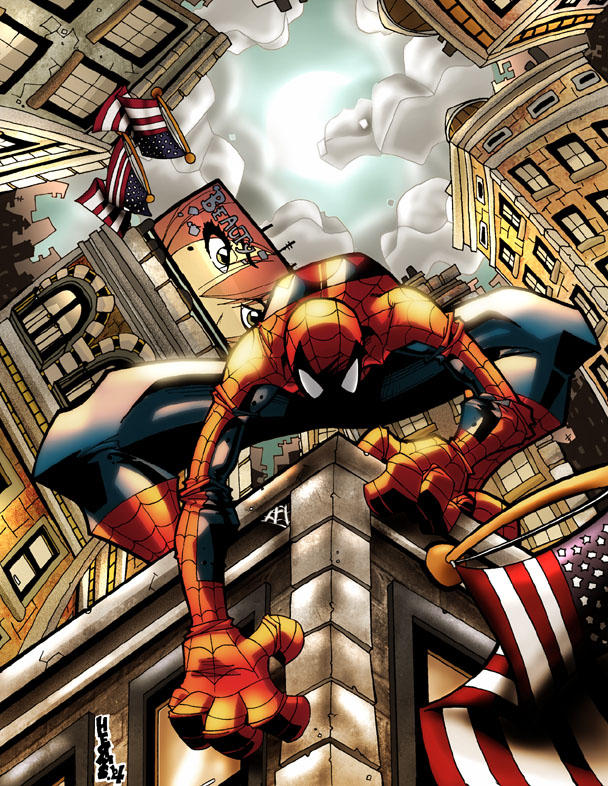 Spectacular Illustration of Spider-man
