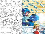 Mega Man 22 Cover