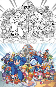 Sonic the Hedgehog 250 Variant Cover(s)