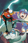 Mega Man 27 Cover