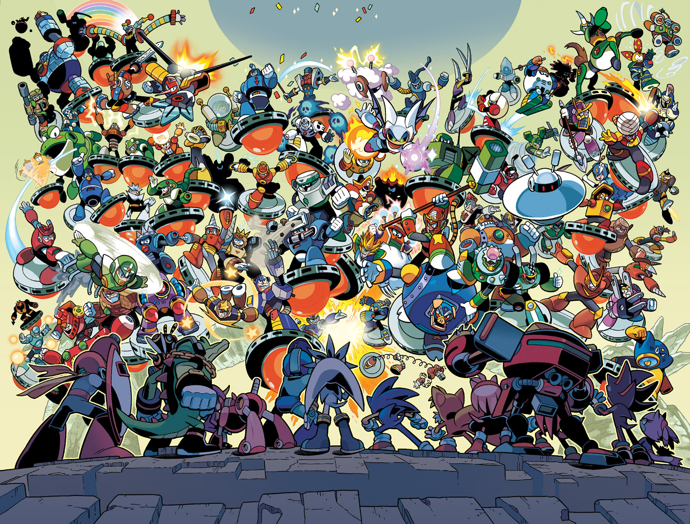 ALL The Robot Masters by herms85
