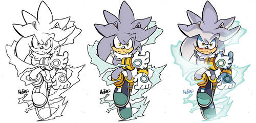 Inks-to-Colors Silver by herms85