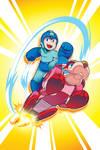 Mega Man 36 Cover