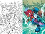Sonic Universe 66 Cover