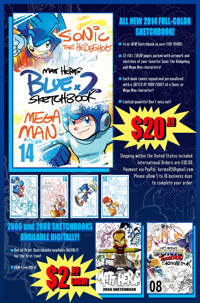 2014 Sketchbook by herms85