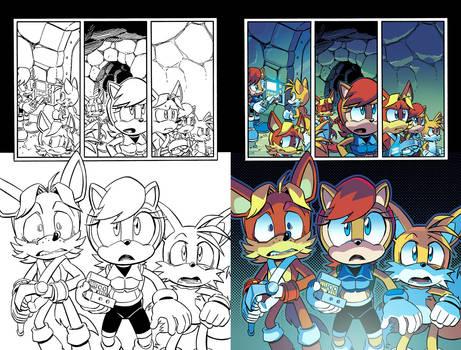 What's Behind the Door?? (Sonic 260 - Pg. 20)