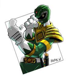 Go Green Power Ranger GO by herms85