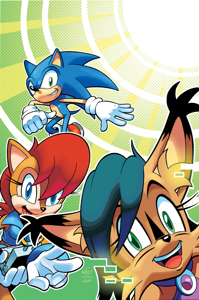 Sonic Super Digest 11 Cover by herms85