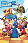Happy 27th Birthday Mega Man