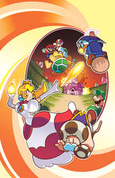 New Super Mario Bros. Adventures 02 Cover by herms85