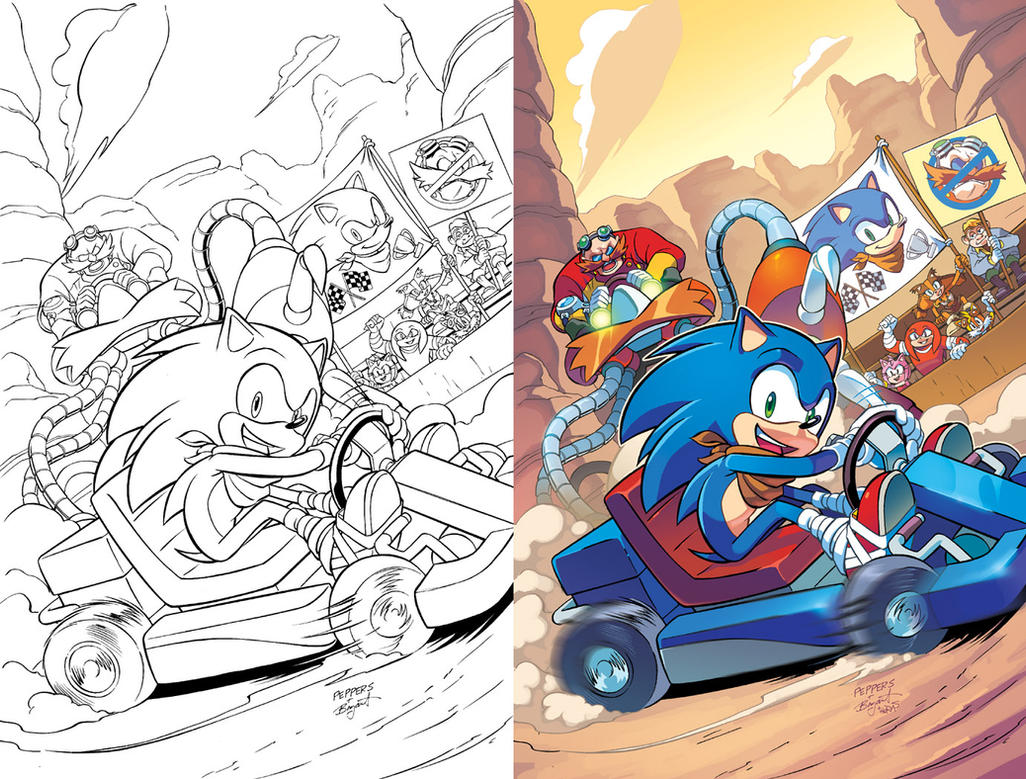 Sonic Boom 07 Cover by herms85