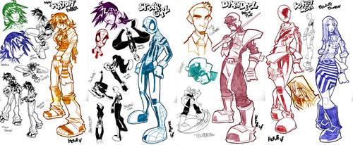 Spider-Girl Sketches