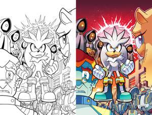 Sonic Universe 81 Cover