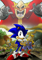 Sonic Coloring Book 02 by herms85